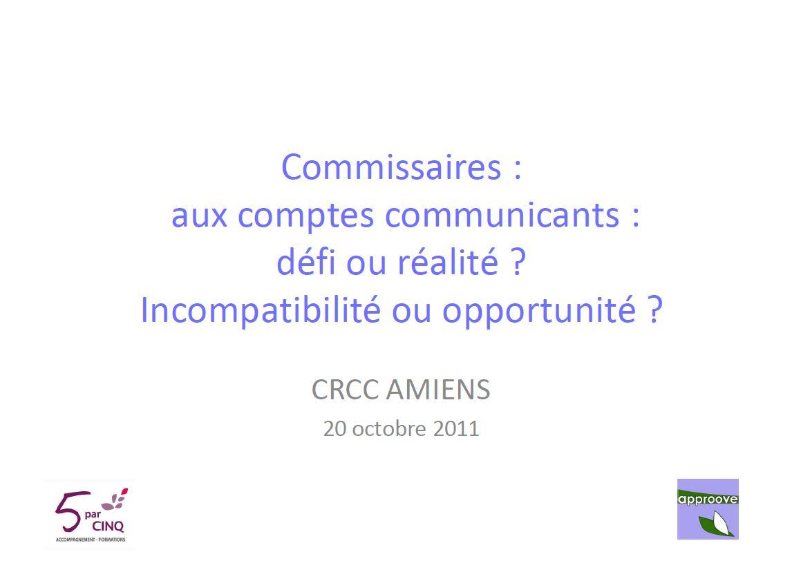 commissaires aux comptes communiquants