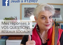 Vos questions sur les réseaux sociaux d'entreprise ? J'y réponds en Live sur Facebook, le Jeudi à 12h07 !