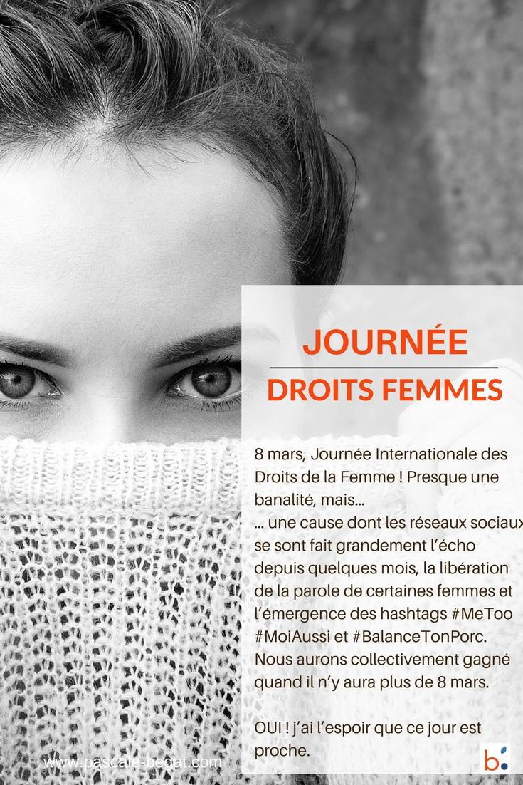 8 mars 2018 : Journée de la femme