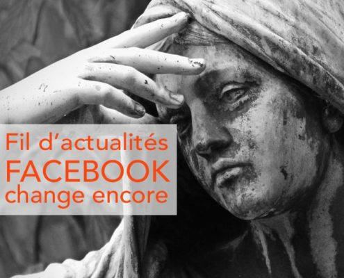 Fil d'actualités, facebook change encore son news feed !