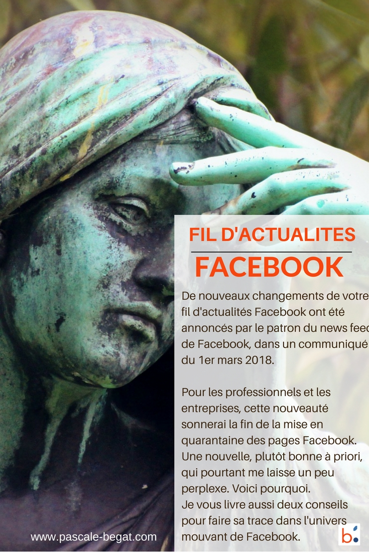 Fil d'actualités, facebook change encore son news feed !