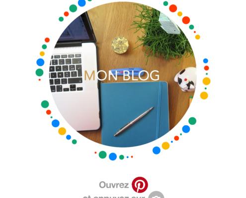 Utilisez le pincode pour voir les articles de mon blog sur Pinterest