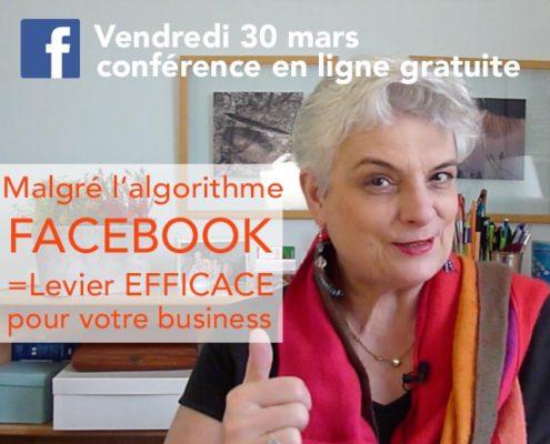 Webinaire gratuit : Facebook un levier efficace pour votre business
