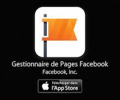 Application gestionnaire de pages Facebook