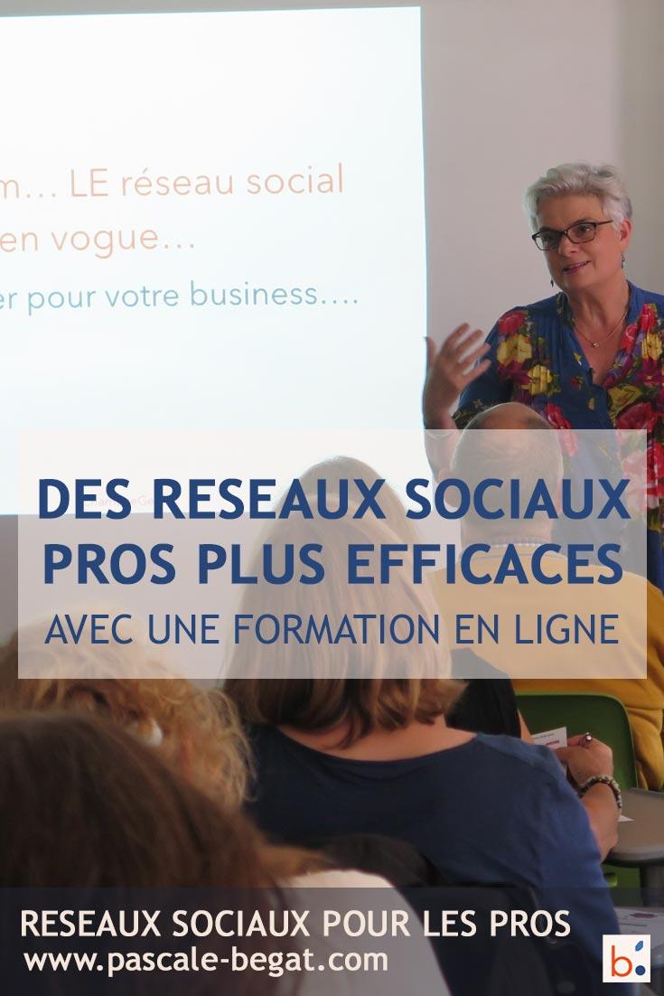 Augmentez l'efficacité de votre community management avec les formations réseaux sociaux en ligne de Pascale Bégat