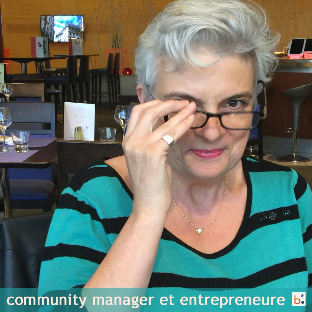 Pascale Bégat est spécialiste des réseaux sociaux pour les entreprises et entrepreneure