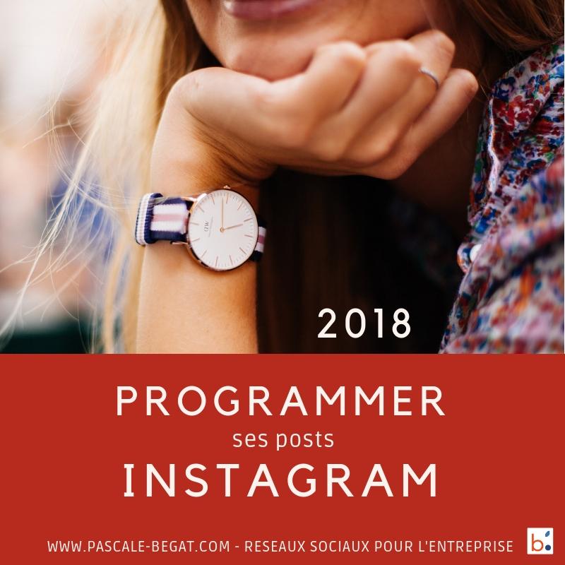 Programmer ses posts sur Instagram en 2018