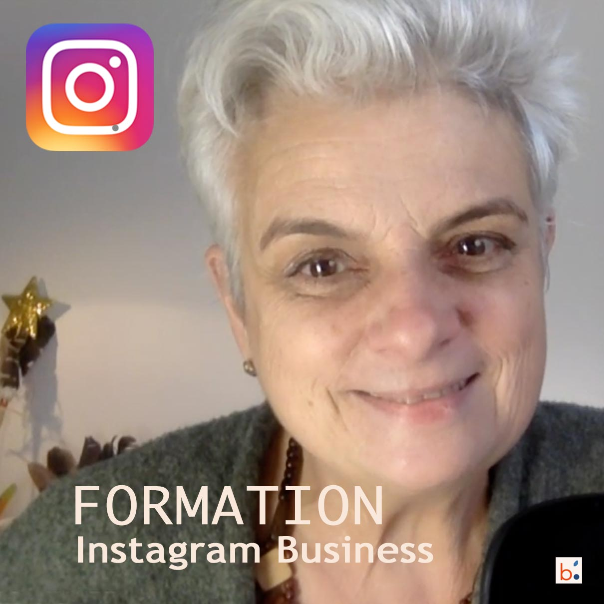 Formation Instagram business