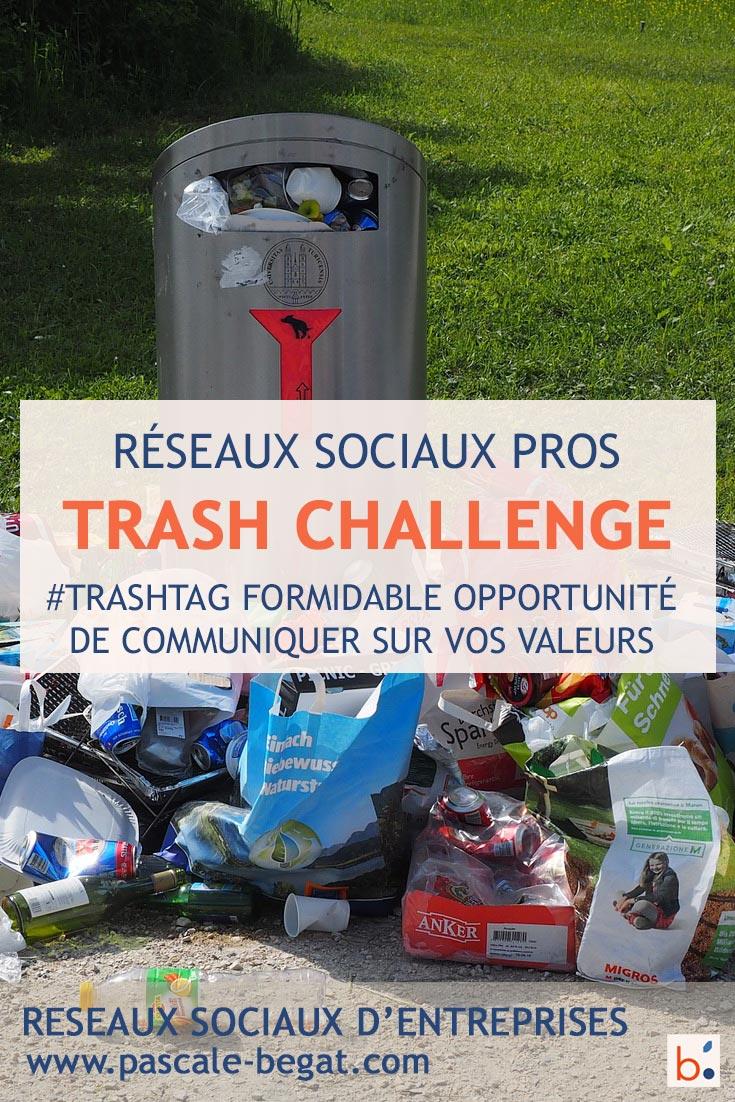 Trash Challenge pour les entreprises