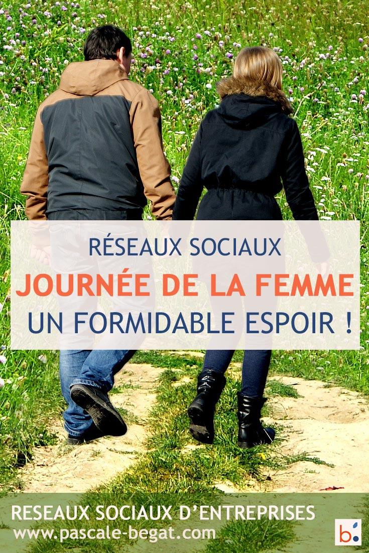 Journée de la femme 2018 : un formidable espoir relayé par les réseaux sociaux