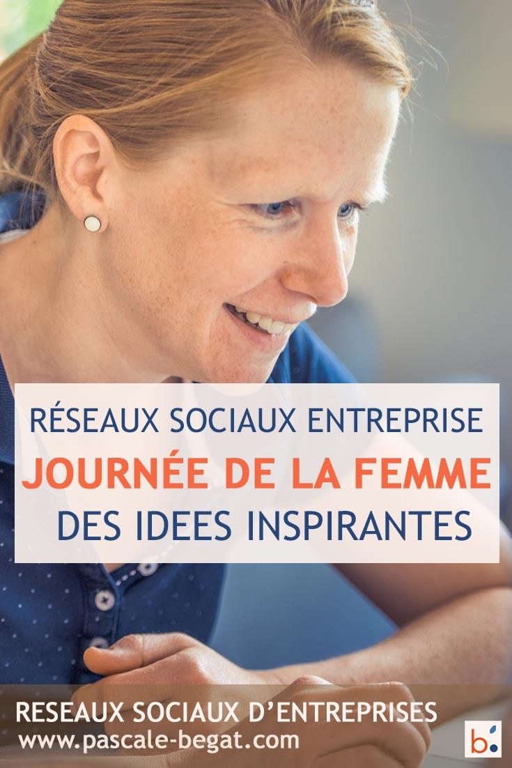Journée de la femme des idées pour l'entreprise
