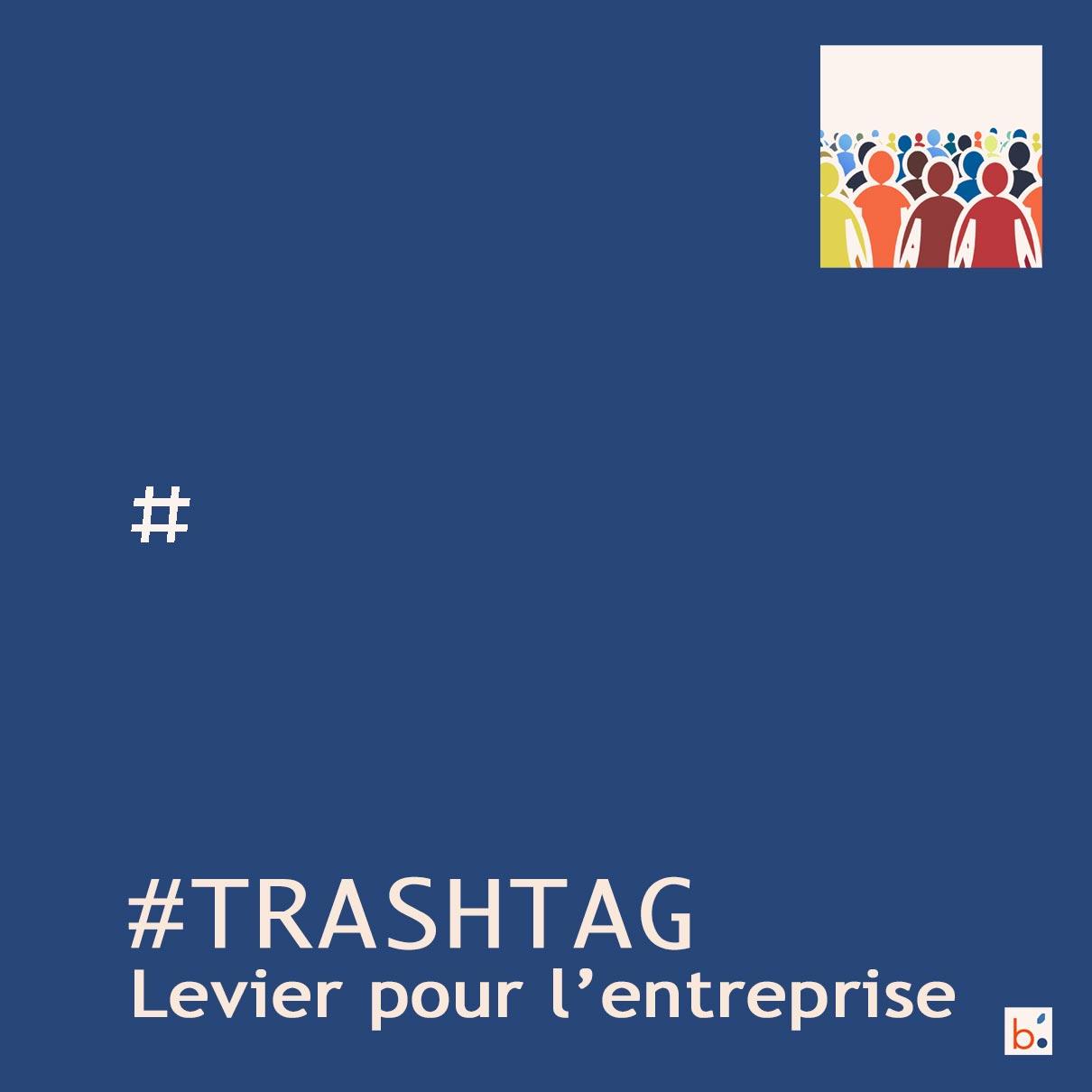 #Trashtag un des hashtags pour le trash challenge
