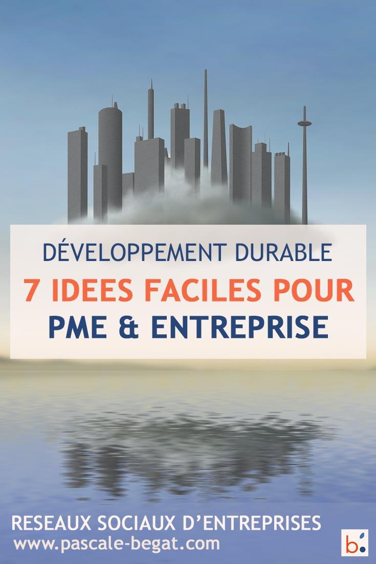 Développement durable en entreprise : 7 idées faciles