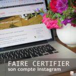 verification compte instagram