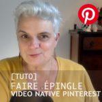 video pinterest native