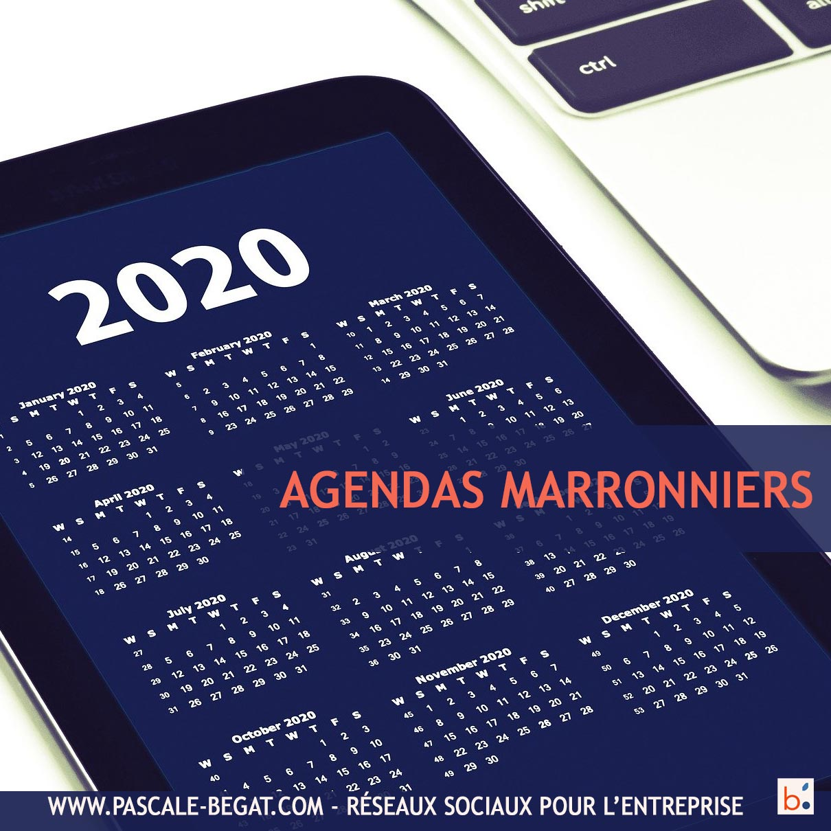 Calendrier marketing 2020