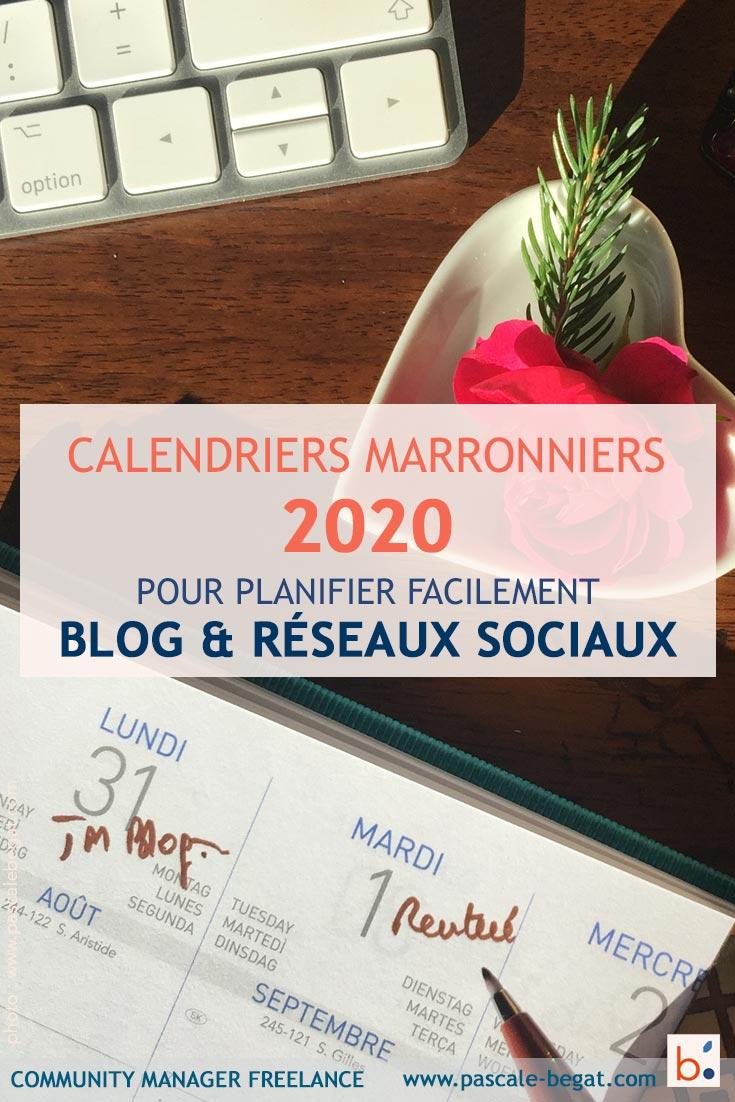 Marronnier reseaux sociaux 2020