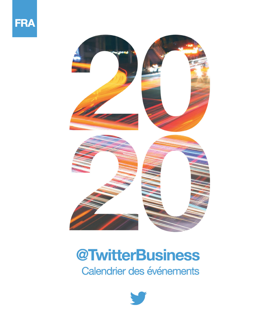 Calendrier twitter 2020 France
